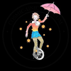 Cosmic Unicycle Logo